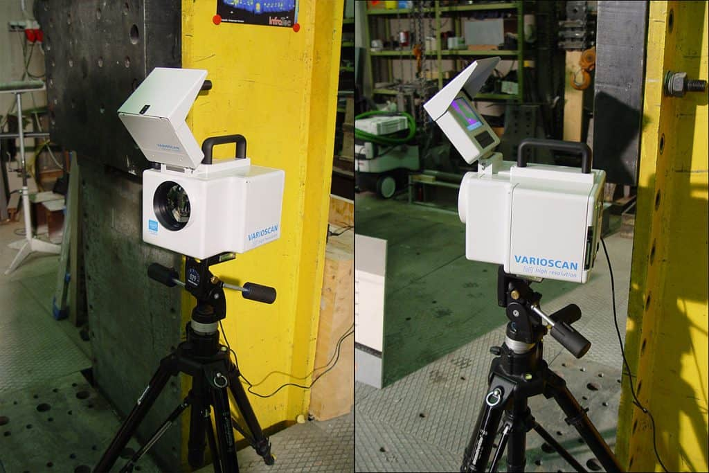 Thermal cameras can detect faults at a photovoltaic plant. Image: Mnolf, Wikipedia, Lizenz GFDL & CC ShareAlike 2.0