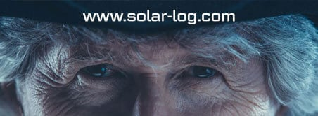 Banner with Link to the Website www.solar-log.com